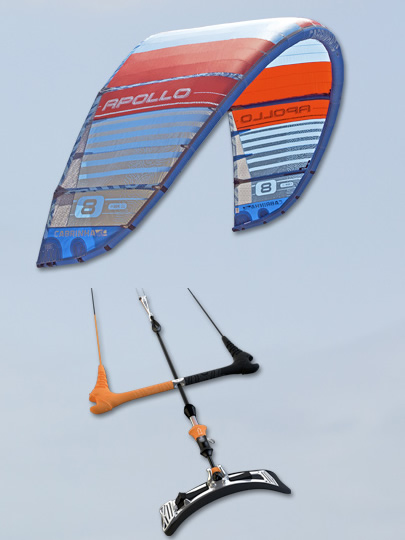 Fireball Set Up with an Apollo Kite from Cabrinha