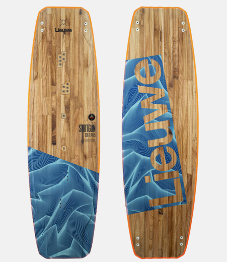 Custom Edition Shotgun Kiteboard From Lieuwe