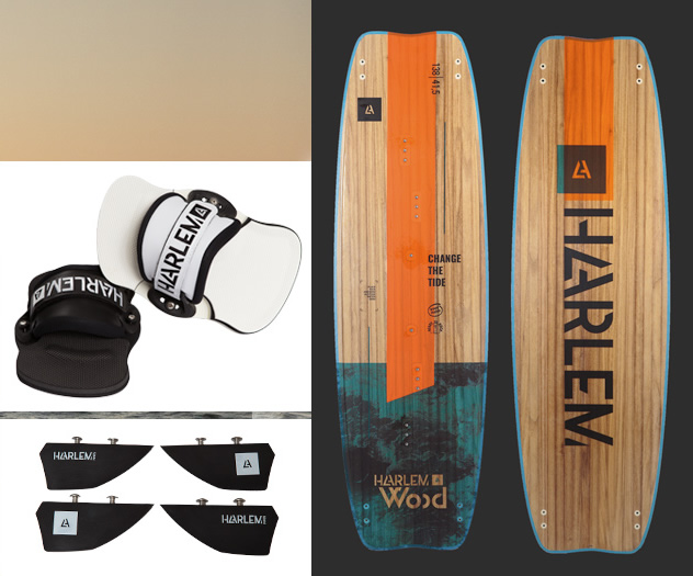 Harlem Wood Kiteboard