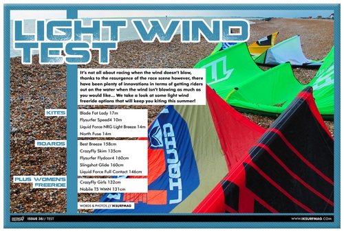 Light Wind Test