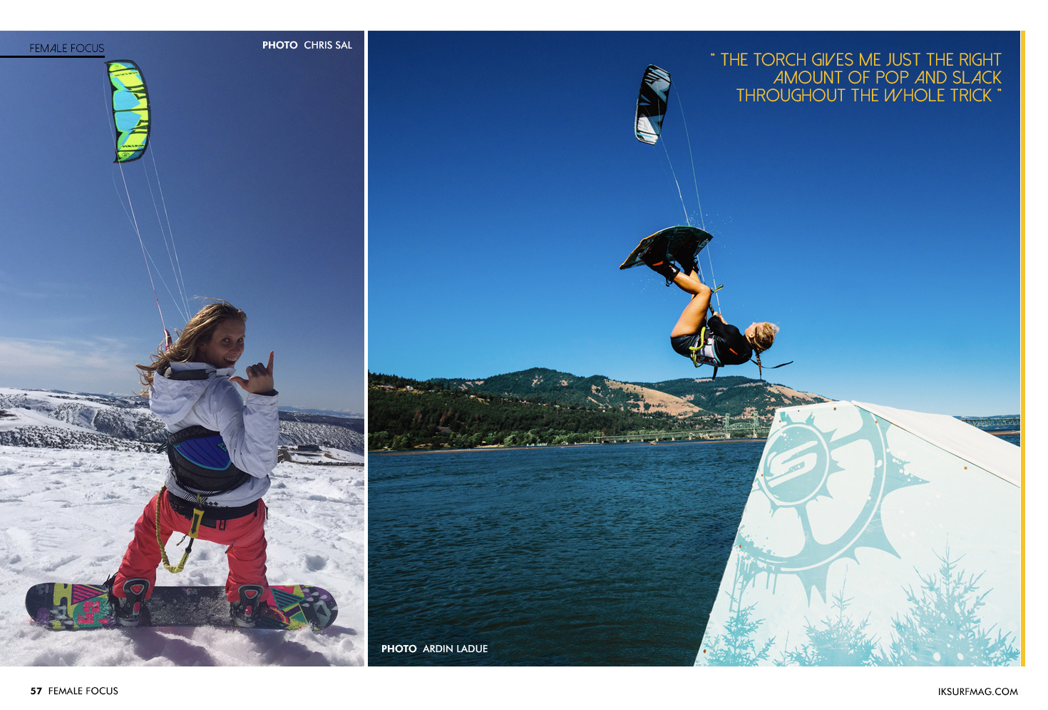 Female Focus - Katie Potter | Articles » Issue 57 | Free Kitesurfing