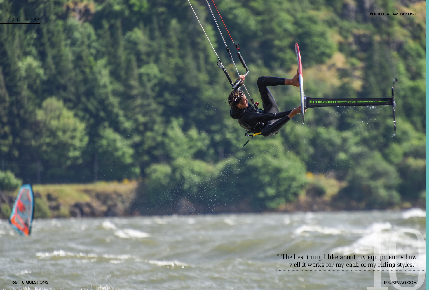 Ten Questions - Fred Hope | Articles » Issue 66 | Free Kitesurfing