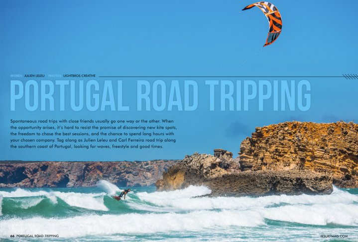 A Road Trip To Portugal | Issue 66 | Free Kitesurfing