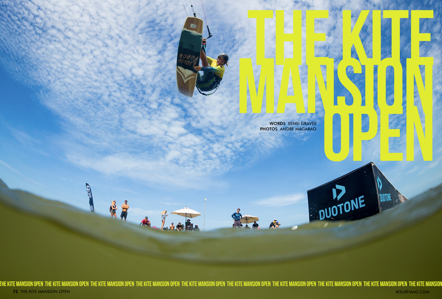 The Kite Mansion Open | Articles » Issue 72