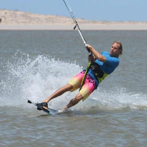 Back Roll Grab from Toeside Kitesurfing Technique