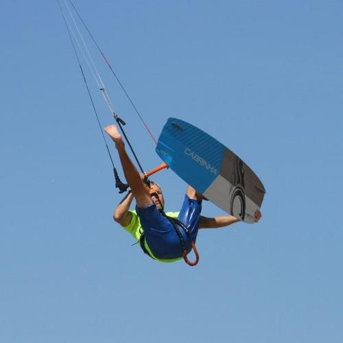 Back Loop Front Foot 1 Foot Kitesurfing Technique