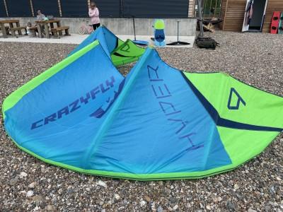 CrazyFly Hyper 9m 2021 Kitesurfing Review