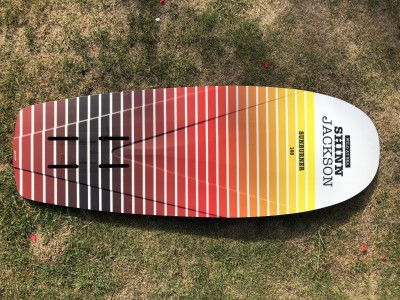 Shinn Jackson Sunburner 128 x 45cm 2020 Kitesurfing Review