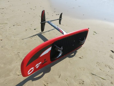 Moses Hydrofoil Fluente 91 2017 Kitesurfing Review