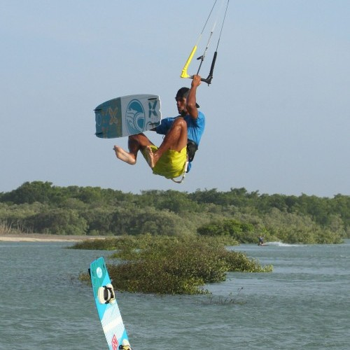 Board Swap Back Loop Kitesurfing Technique