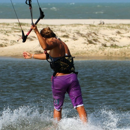 Ole from Blind Kitesurfing Technique