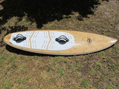 "F-ONE Kiteboarding Surf 5'11"" 2013 Kitesurfing Review"