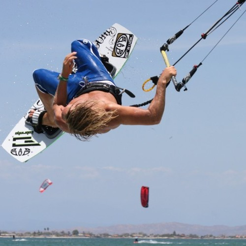 Back Loop to Blind with Air Pass Kitesurfing Technique