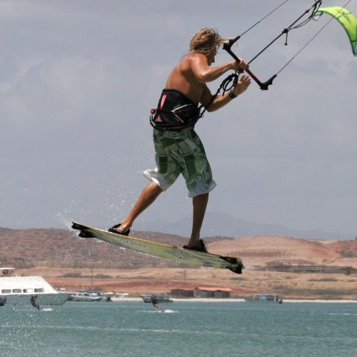 Blind Judge Kitesurfing Technique