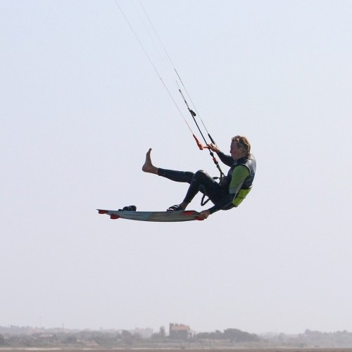 Front Foot One Foot Downloop Transition Kitesurfing Technique