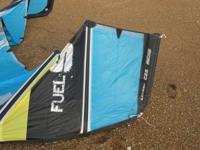 Slingshot Fuel 9m 2012 Kitesurfing Review