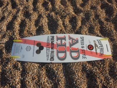 Shinn ADHD Rum 137 x 41cm 2016 Kitesurfing Review