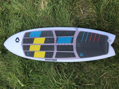 DUOTONE Fish SLS 5'3 2020 Kitesurfing Review