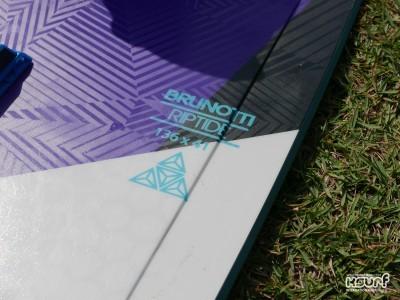 Brunotti Riptide 136 x 41cm 2016 Kitesurfing Review