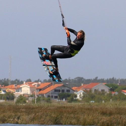 Toeside Back Loop Downloop Transition Kitesurfing Technique
