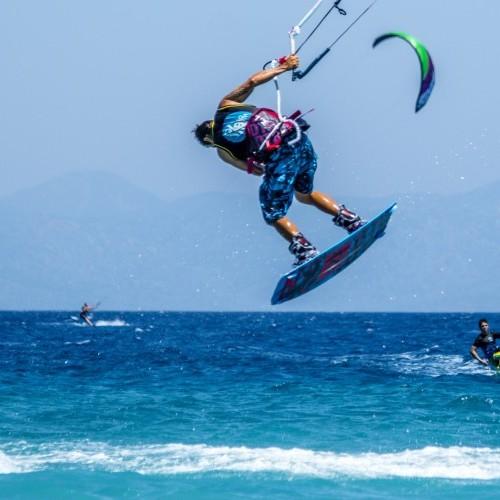 Kremasti Kitesurfing Holiday and Travel Guide