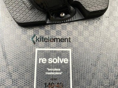 Kitelement ReSolve Black 136 x 41cm 2020 Kitesurfing Review