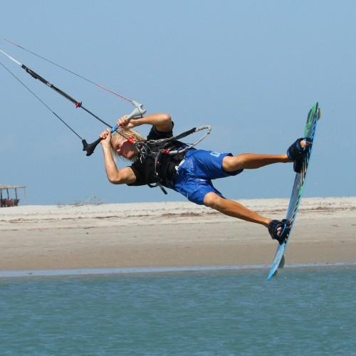 Double Back Loop Kiteloop Kitesurfing Technique