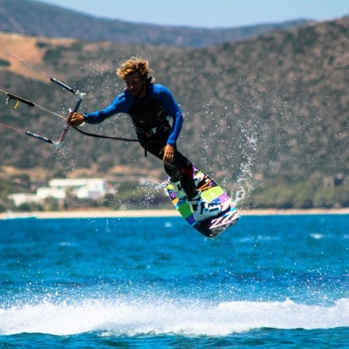 Paros Kitesurfing Holiday and Travel Guide
