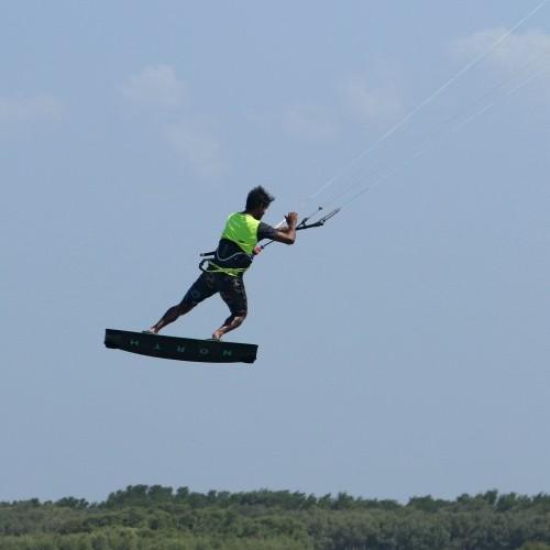 Back Roll Kite Loop Grab Kitesurfing Technique