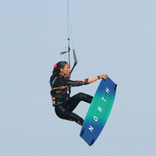 Back Loop Double Grab Kitesurfing Technique