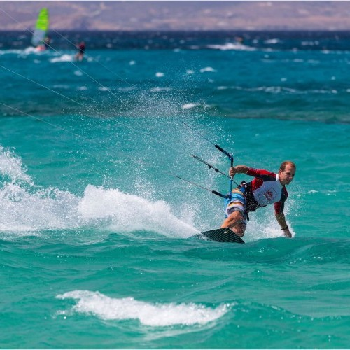 Naxos Island Kitesurfing Holiday and Travel Guide