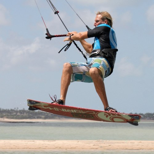 Front to Wrapped Kitesurfing Technique