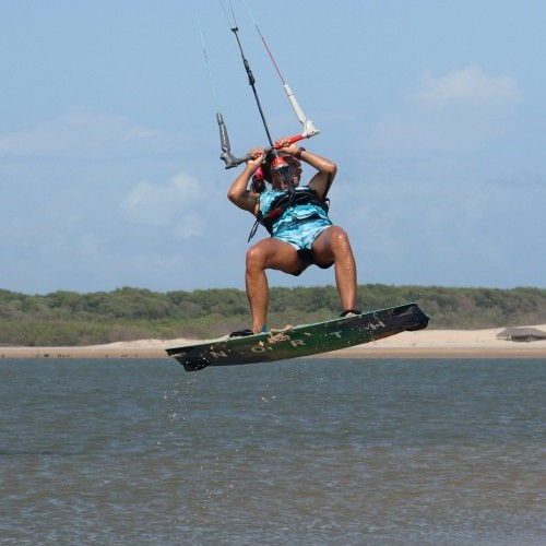 Beach Start Back Roll Kitesurfing Technique