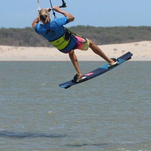 Front Roll from Blind Kitesurfing Technique