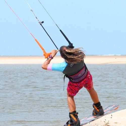 Beach Start Front Roll Kitesurfing Technique