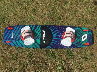 Nobile Kiteboarding 50/Fifty WMN 138 x 39.5cm 2017 Kitesurfing Review