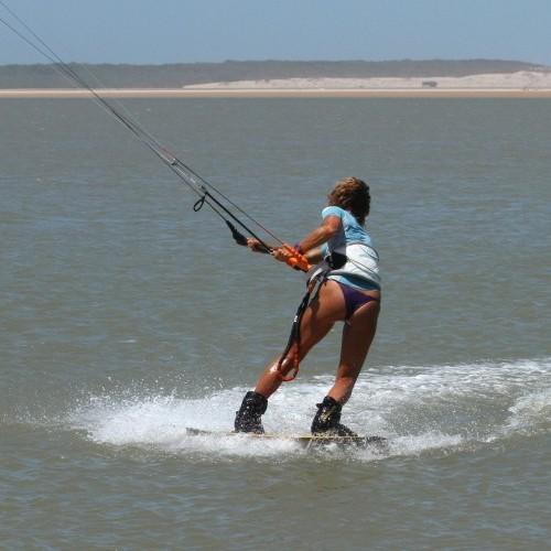 Blind Underturn Transition Kitesurfing Technique