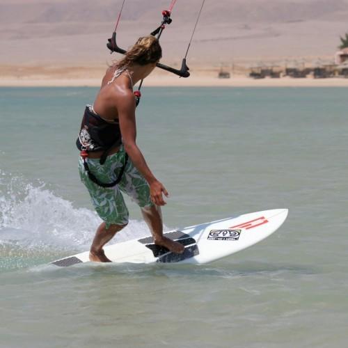 Strapless Riding Kitesurfing Technique