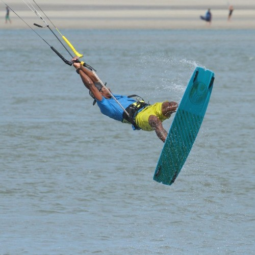 Double Heart Attack Kitesurfing Technique