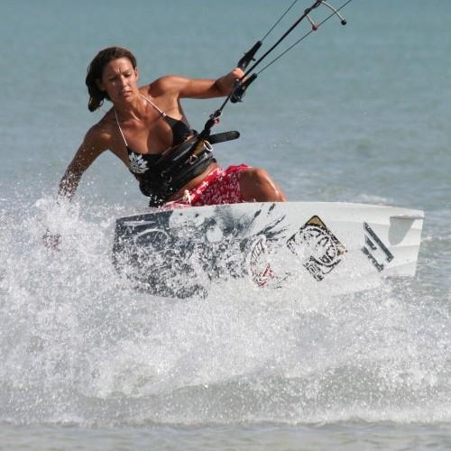 Pop Back From Toeside Kitesurfing Technique