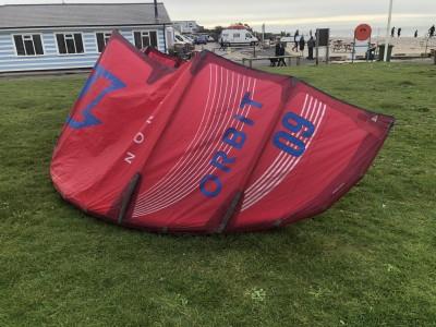 North Kiteboarding Orbit 9m 2021 Kitesurfing Review