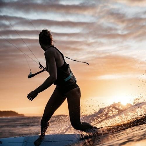 Surf Kitesurf /& Windsurf Gem Jalou Langeree Surf Taillengurt Mint 3D geformter Schaumstoffinnenraum Mystic Watersports