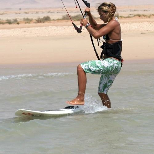 Strapless Beach Start Kitesurfing Technique