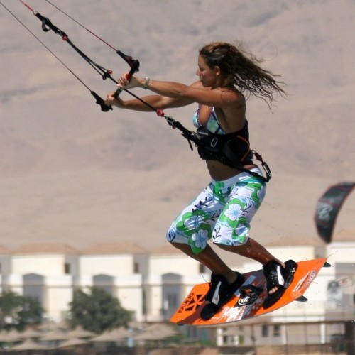 Down Loop Air Gybe Kitesurfing Technique
