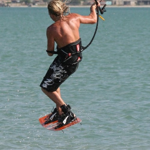 Shifty to Wrapped Kitesurfing Technique
