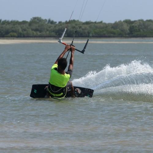 BLT to Blind Kitesurfing Technique