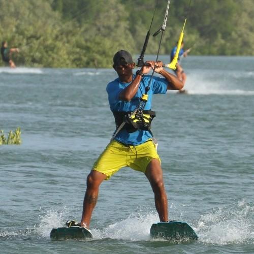 Water Skiing Kitesurfing Technique