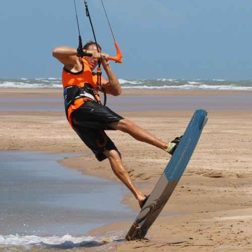 Beach Bounce BLT Kitesurfing Technique