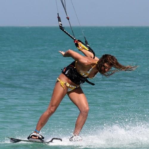 Front to Blind Kitesurfing Technique