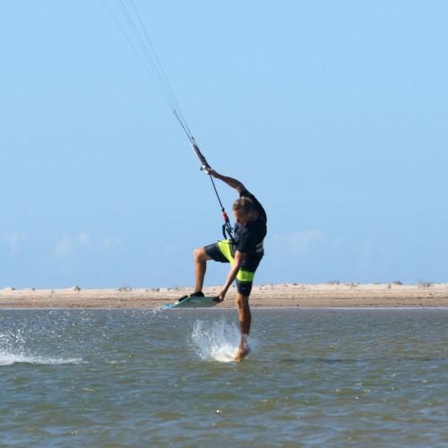 Front Roll Foot Wash Transition Kitesurfing Technique
